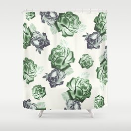 Roses 2 Shower Curtain