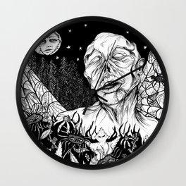 A Midnight Walk Wall Clock