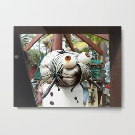 Cute Recycled Critter Metal Print