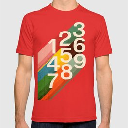 Retro Numbers T-shirt