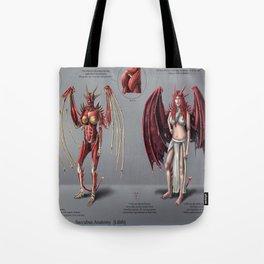 Lilith Anatomy Study Tote Bag