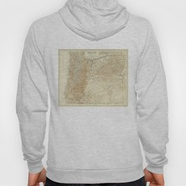 Vintage Map of Oregon (1911) Hoody