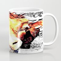 bull Mugs featuring Bull by TexasDesignsByAmy