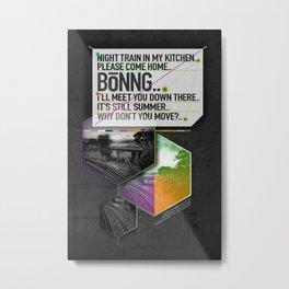Bönng I Metal Print