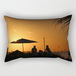 Turks & Caicos Sunset Rectangular Pillow