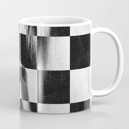Survive Nude Woman Checkered 4 Coffee Mug