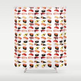 Sushi Squad Shower Curtain