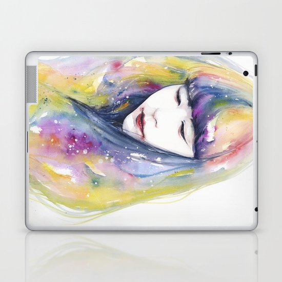 lime nights Laptop & iPad Skin