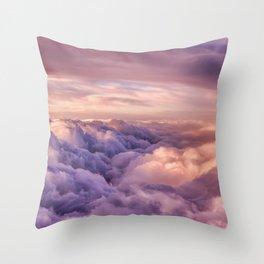Mountains of Dreams Throw Pillow