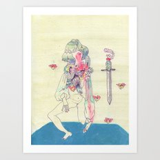 GENDER WARRIOR Art Print