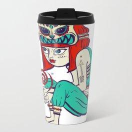 Voodoo magic Metal Travel Mug
