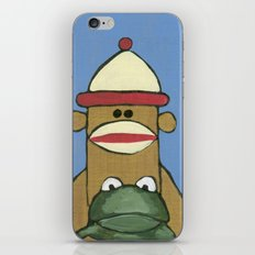 Sock Monkey 81 iPhone & iPod Skin