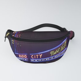Reflections of Radio City Music Hall Fanny Pack