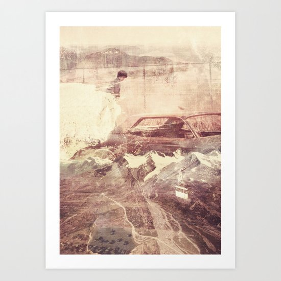 Over The Edge/Ooh Child Art Print