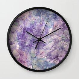 Lavender Dreams Wall Clock