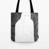 ghost Tote Bags featuring Ghost by David Penela