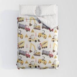 Construction Machines Comforters