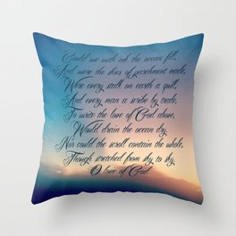 Love of God Throw Pillow