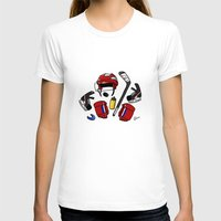 kit king T-shirts featuring Hockey kit by Kana Aiysoublood