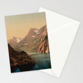 """Lofoten Trollfjord Norway"" Stationery Cards"