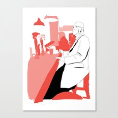 Having A BloodyPint Canvas Print