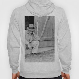 Farmer in Despair Over the Depression in 1932 Hoody