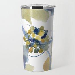Atom Flowers #32 Travel Mug