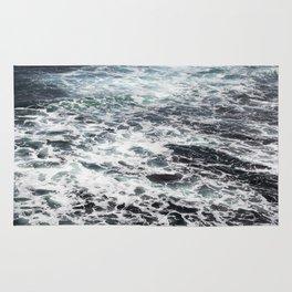 Getting lost in Ocean hues Rug