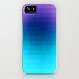 Sunset gradient pixels iPhone Case