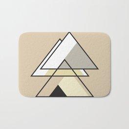 Minimalist Triangle Series 008 Bath Mat