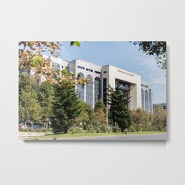 Roumania, Bucharest Court, Bucarest Metal Print