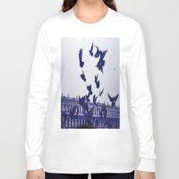 italian Long Sleeve T-shirts featuring Italian Birds.  by AntonettaG