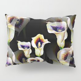Arum Calla Lilies Pattern in Watercolor Pillow Sham