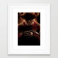 freddy krueger Framed Art Prints featuring Freddy Krueger by Duke78