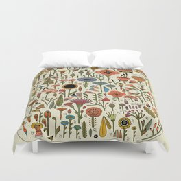 Wildflower Chart Duvet Cover