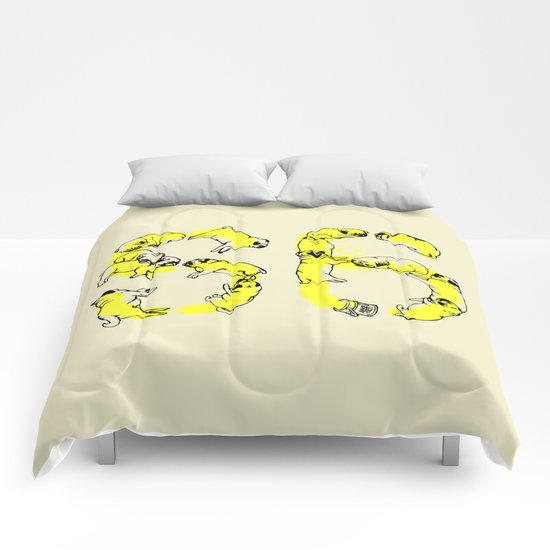 Pugs Prank Comforters