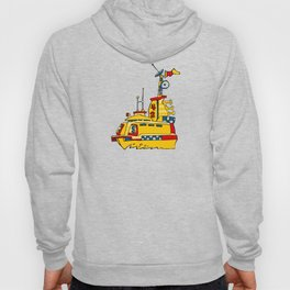 New Chicago Water Taxi Hoody