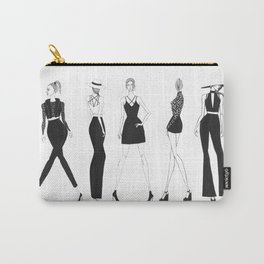 Fashion Illustration Carry-All Pouch