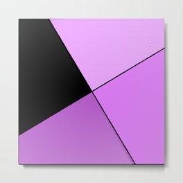 Purple home design Metal Print