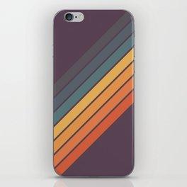 Classic 70s Style Retro Stripes - Dalana iPhone Skin