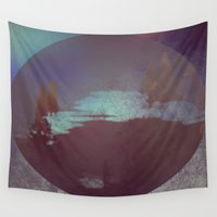 lunar Wall Tapestries featuring Lunar Light by Jane Lacey Smith
