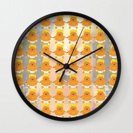 Baby Trump Wall Clock