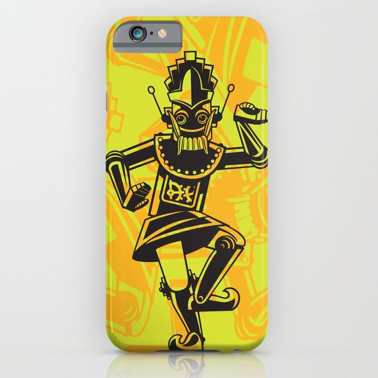 Balinese Legong Dancing Robot iPhone & iPod Case