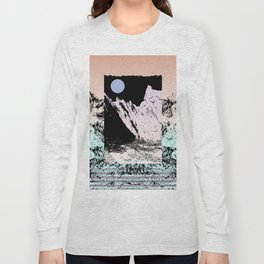 That circle which might be a moon Long Sleeve T-shirt