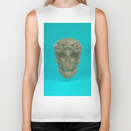 Skull Coral Reef Biker Tank