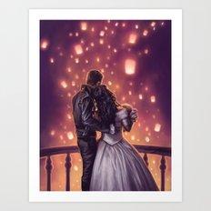 Lights of Hope Art Print