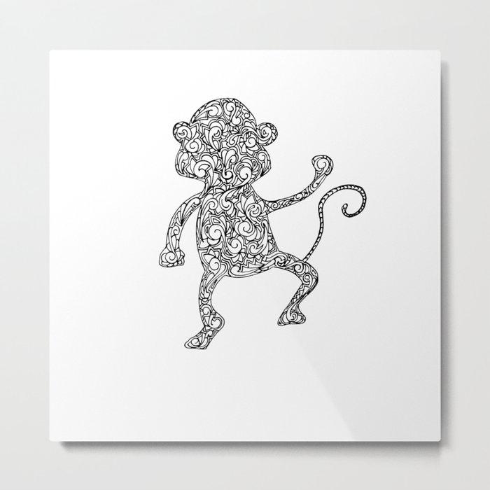 cheeky monkey Metal Print