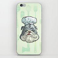 chef iPhone & iPod Skins featuring Chef by Keyspice