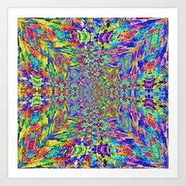 Pattern-297 Art Print