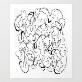 Drawing Two Art Print